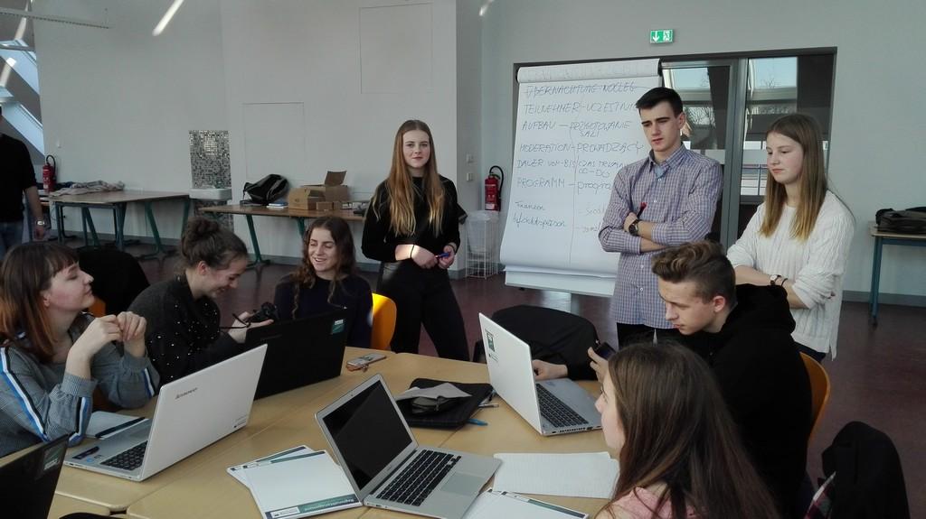 Kulturalno-turystyczne warsztaty uczniów ze Zgorzelca i Saksonii