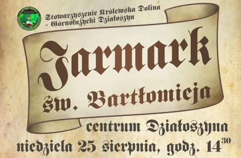 Już w niedzielę VI Jarmark Św. Bartłomieja w Działoszynie!