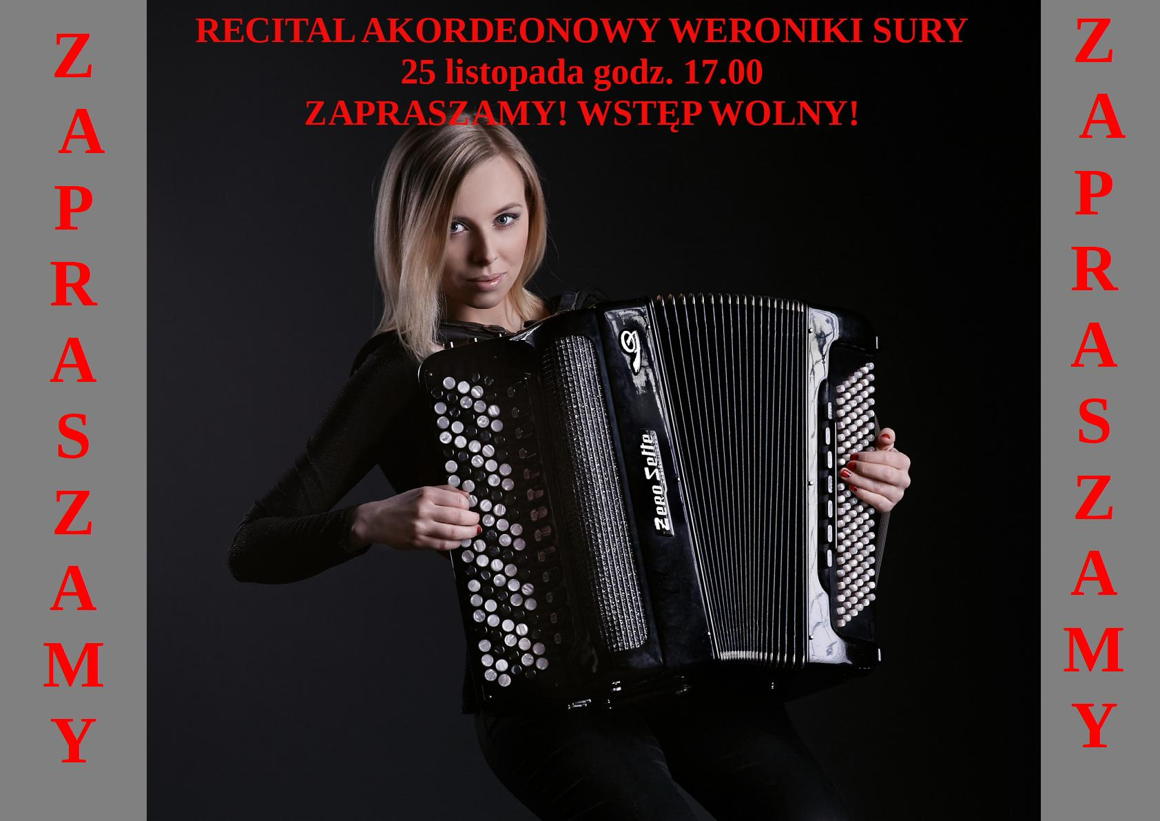 Recital Akordeonowy Weroniki Sury