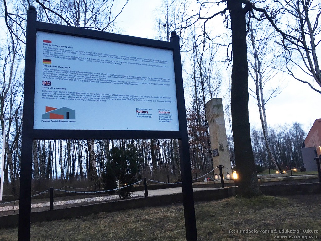 Zakończono prace przy Pomniku Jeńców Stalagu VIIIA