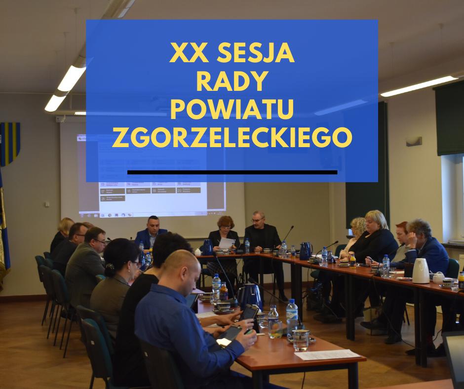 XX sesja Rady Powiatu Zgorzeleckiego