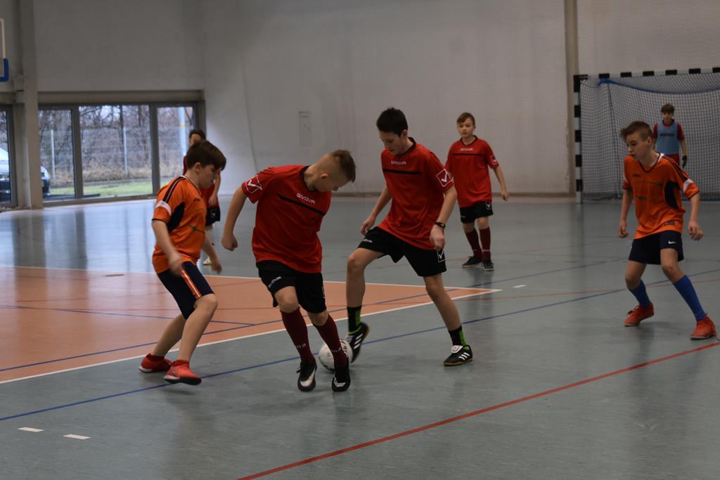 Finał dolnośląski LZS w halowej piłce nożnej