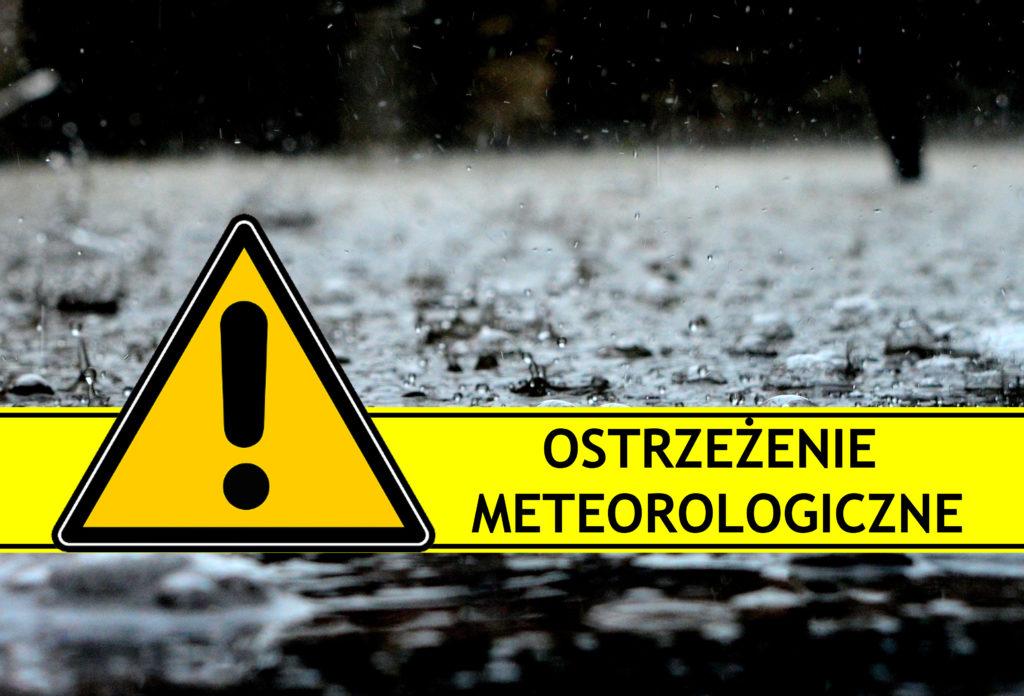 Ostrzeżenie meteorologiczne nr 77