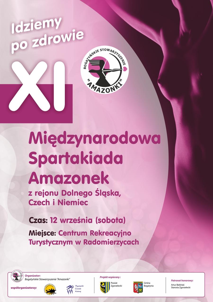 XI Międzynarodowa Spartakiada Amazonek już w sobotę!
