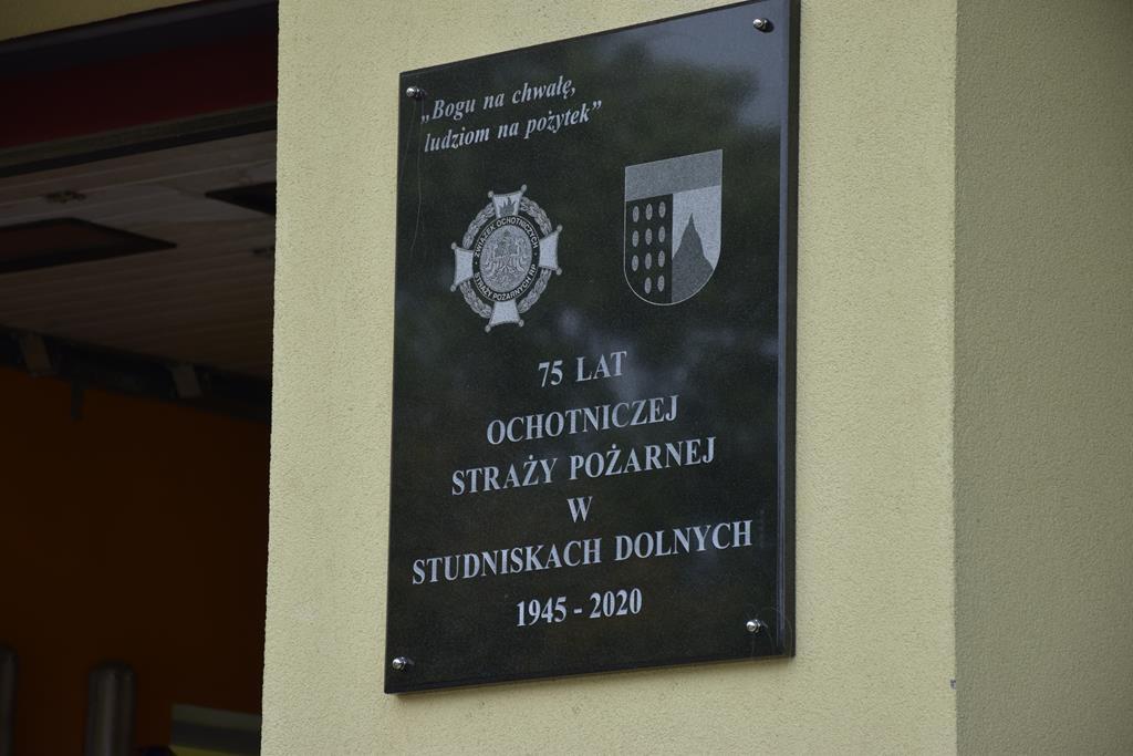 75-lecie OSP w Studniskach Dolnych