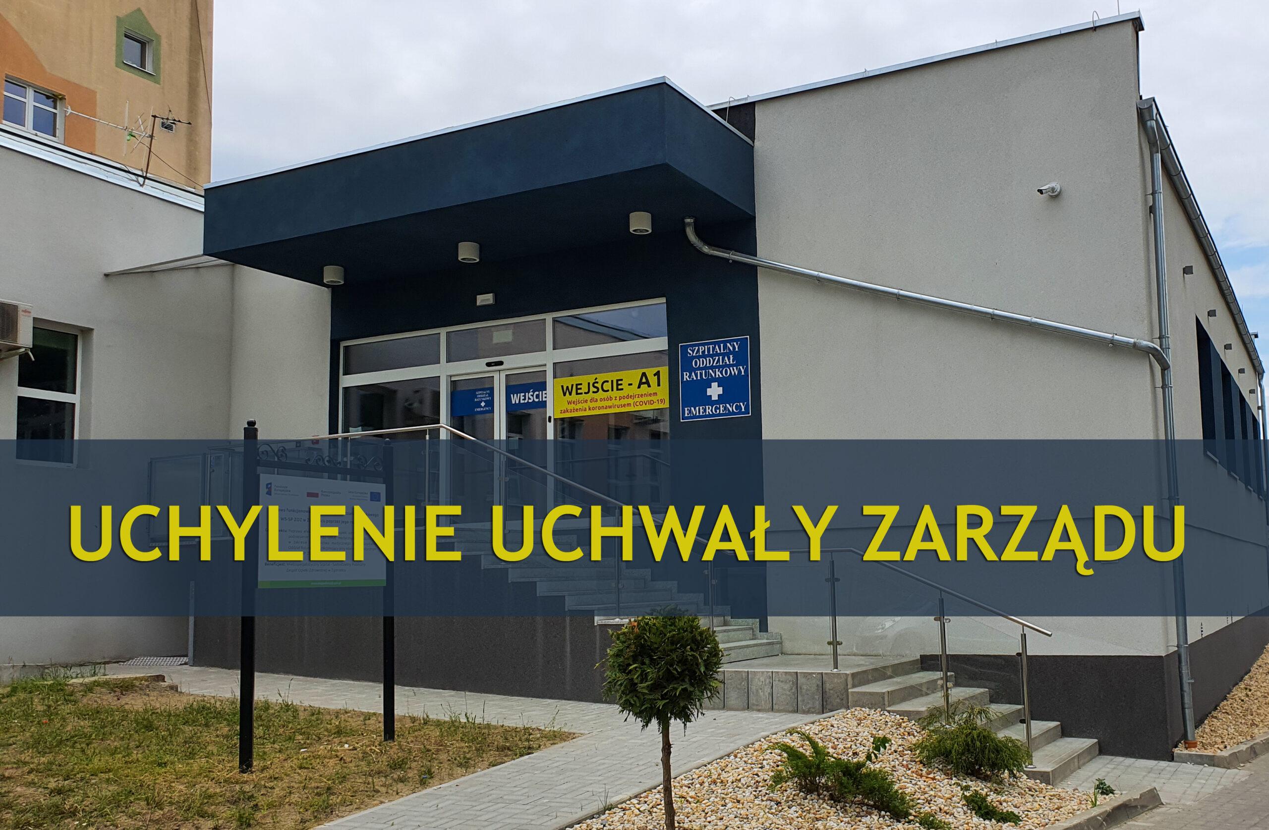 Uchylnie uchwały w sprawie odwołania Dyrektora WS-SPZOZ w Zgorzelcu