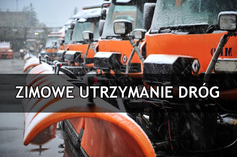 Zimowe utrzymanie dróg w sezonie 2020/2021