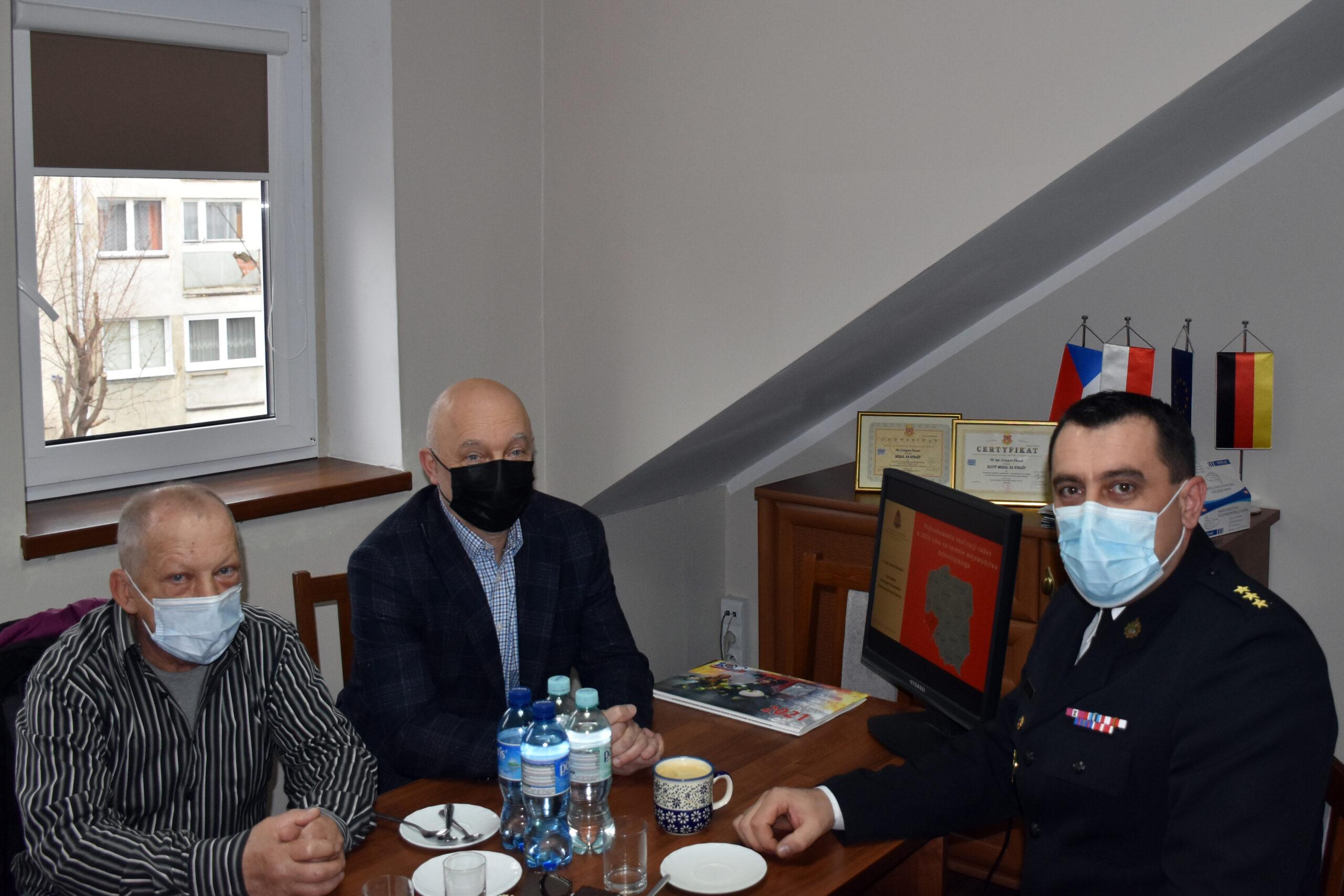Odprawa roczna PSP województwa dolnośląskiego
