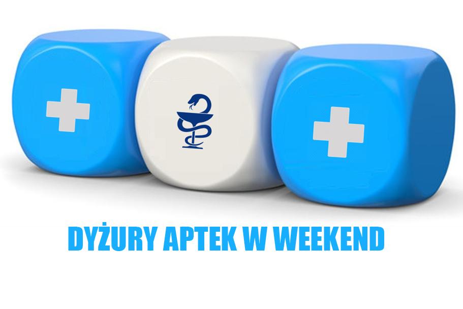 Dyżury aptek w weekend (02-05.04.2021)