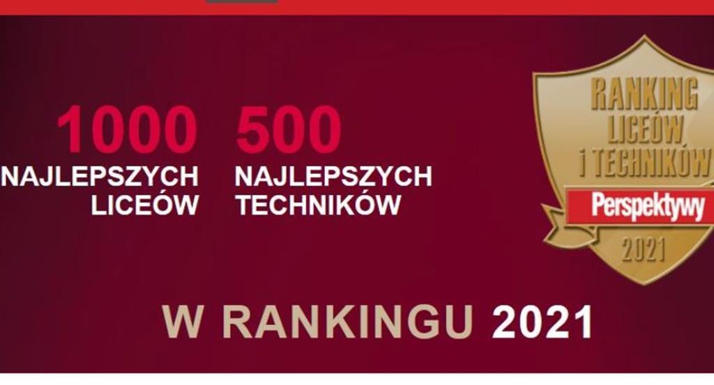 Nasze szkoły po raz kolejny znalazły się wśród najlepszych w rankingu Perspektyw
