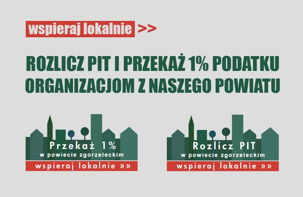 Wspieraj lokalnie – rozlicz PIT i przekaż 1% podatku w naszym powiecie