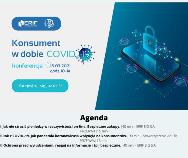 Konsument w dobie COVID-19 – bezpłatna konferencja online