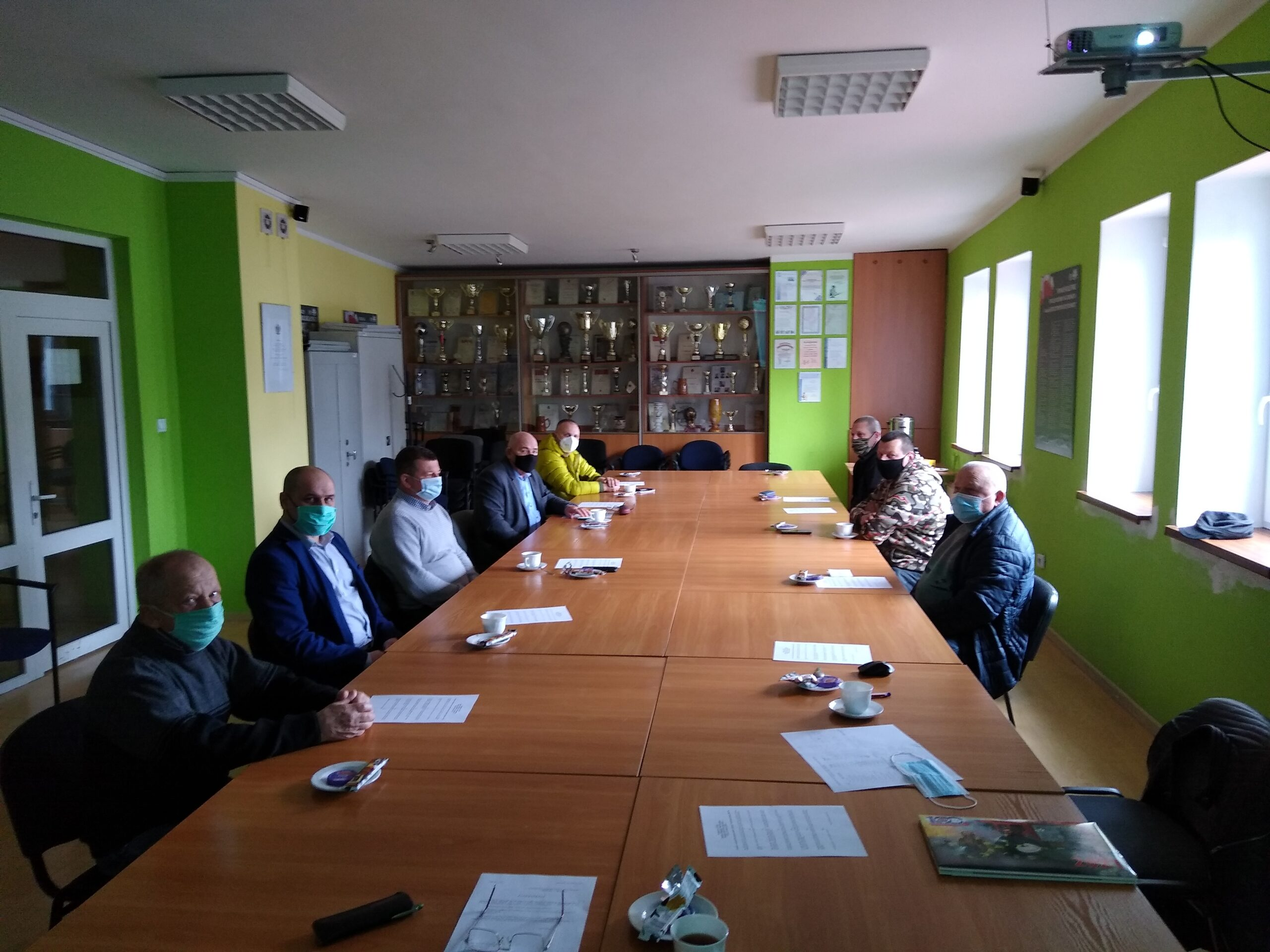 Posiedzenie Zarządu Oddziału Powiatowego Związku OSP RP w Zgorzelcu
