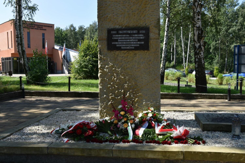 Uroczystość zakończenia projektu Worcation i upamiętnienia ofiar II wojny światowej