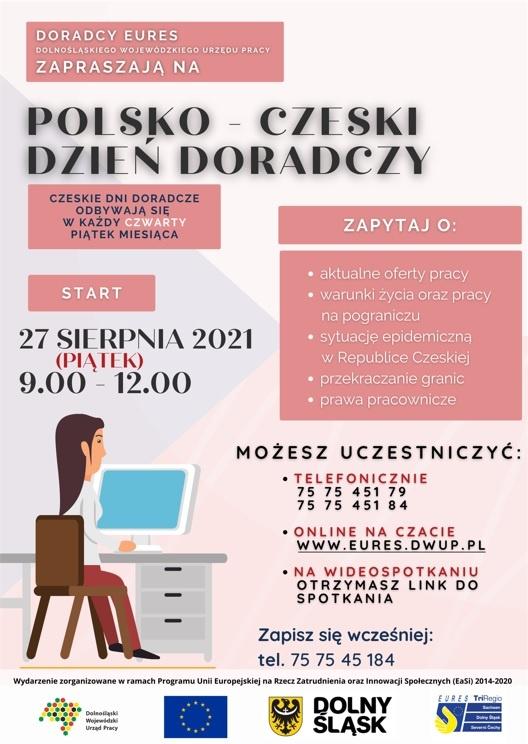 Polsko-czeski dzień doradczy online (27.08.2021 r.)