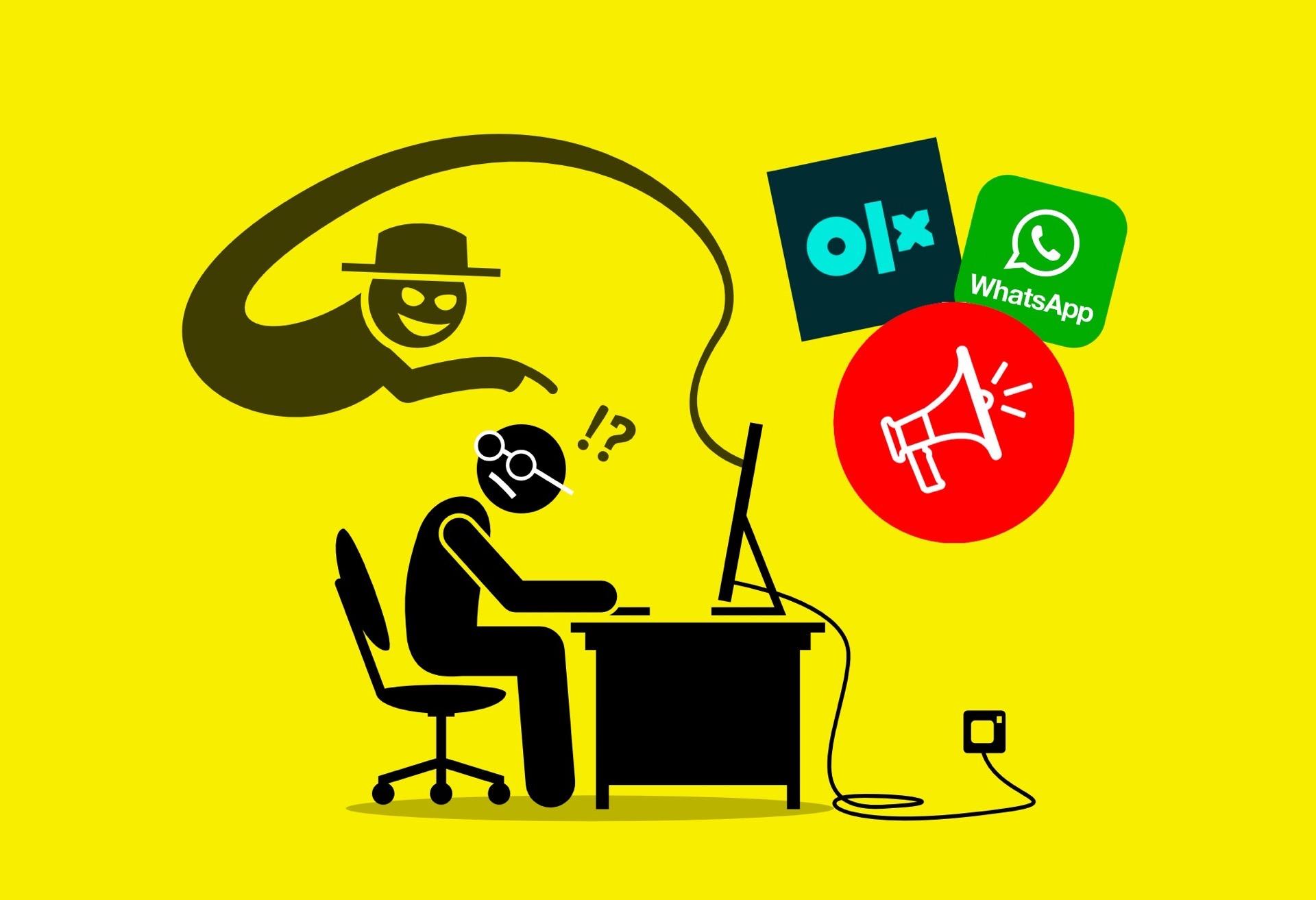 Uwaga na oszustwa przy pomocy OLX oraz WHATSAPP