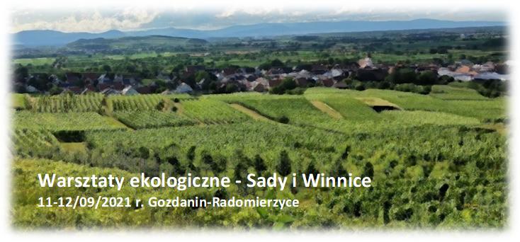 Warsztaty ekologiczne – Sady i Winnice