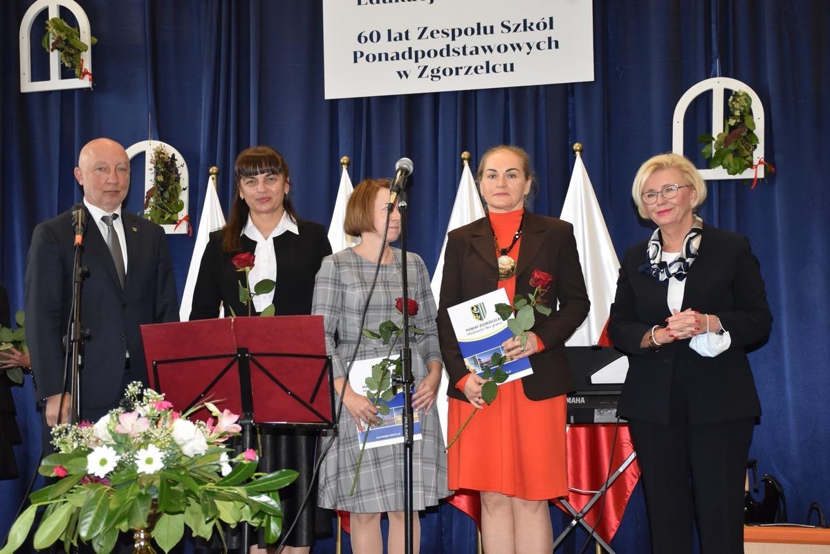 Powiatowy Dzień Edukacji 60 lat ZSP w Zgorzelcu 11.09.2021