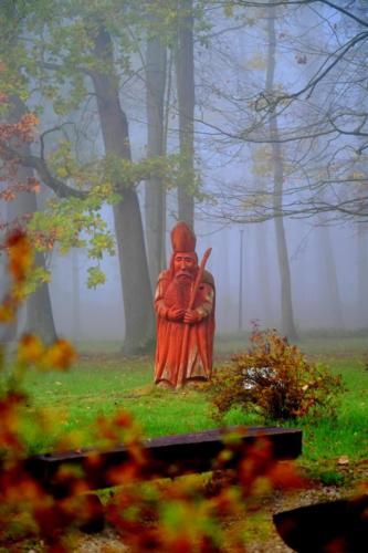 5-Jan Tołoko -mglista jesień w parku (1)