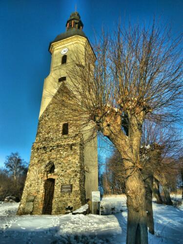 Urban K Wieża Kościoła Ewamgelickiego Zawidów